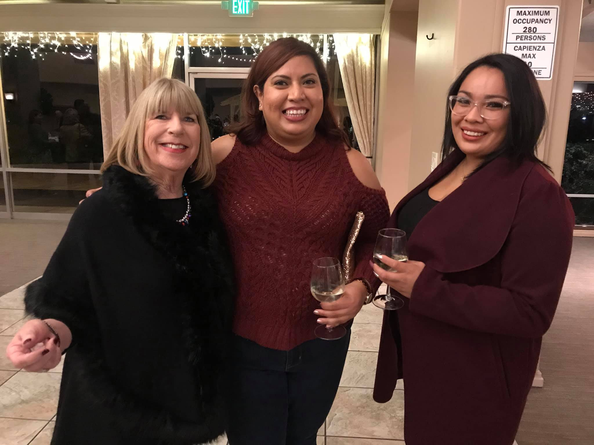 Photo of Donna Pray, Yesenia Gonzalez and Friend