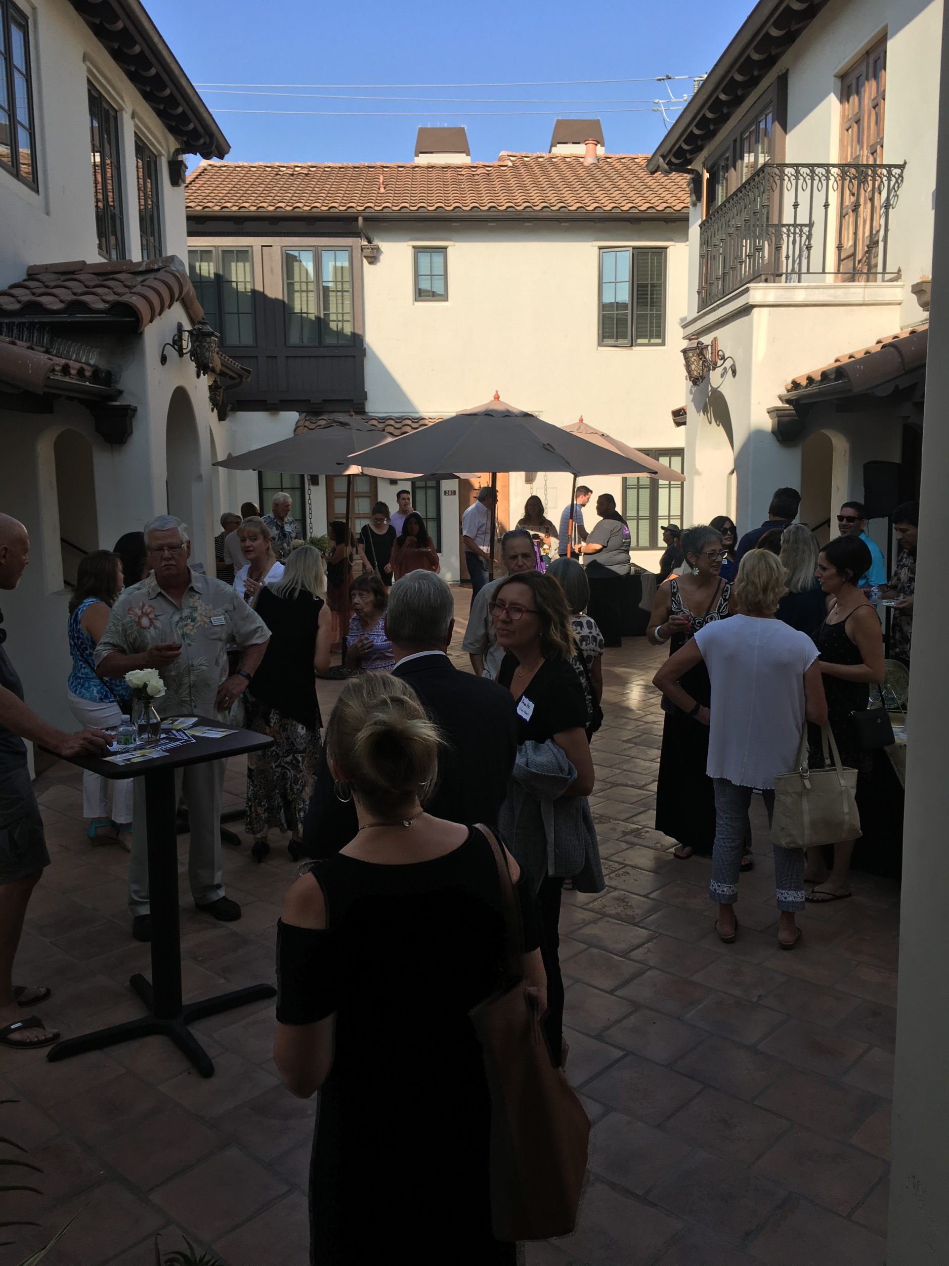 Photo of Attendees at Gilroy Foundation Chamber Mixer