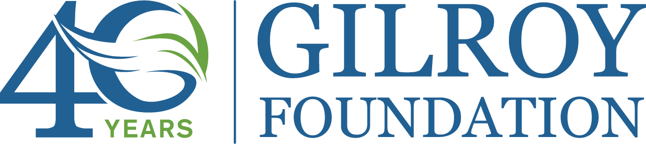 Gilroy Foundation 40 Year Logo